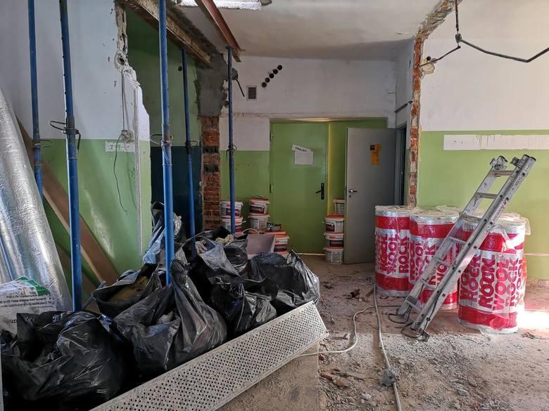 Odnawianie Clepardii. Obejrzyjcie najnowsze zdjęcia z remontu klubowego obiektu