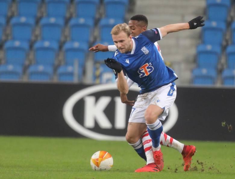 Lech potrzebował w Liège wygranej i po golu Mikaela Ishaka wydawało się, że trzy punkty są już w zasięgu Kolejorza. Wystarczył jednak dwa momenty nieuwagi