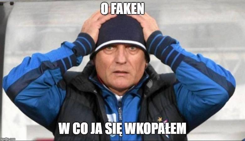Adam Nawałka zanotował nieudany debiut w Lechu Poznań. Kolejorz przegrał z Cracovią 0:1, a internauci nie przepuścili okazji, by dosadnie skomentować