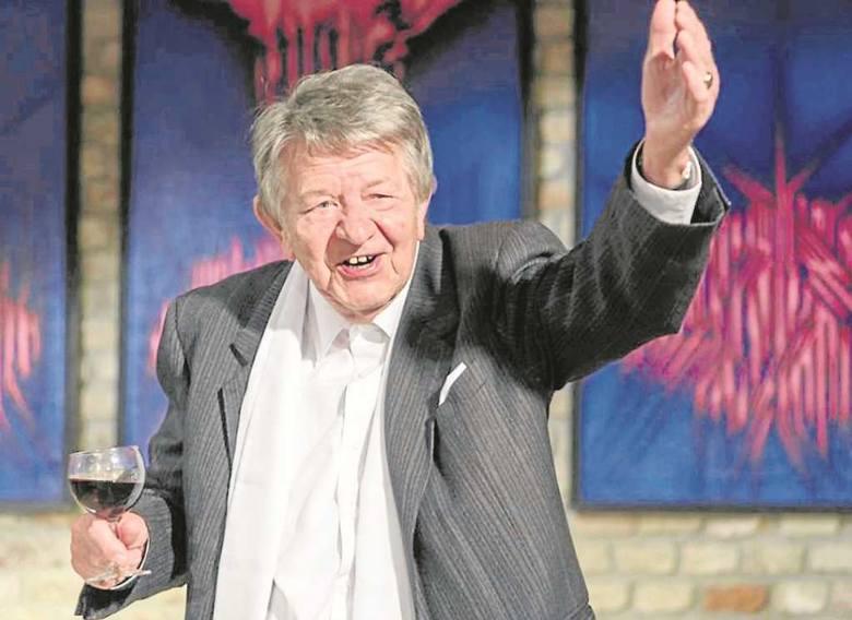 Nie mam czasu na starzenie się - mówi pełen werwy i ekspresji Janusz Trzebiatowski