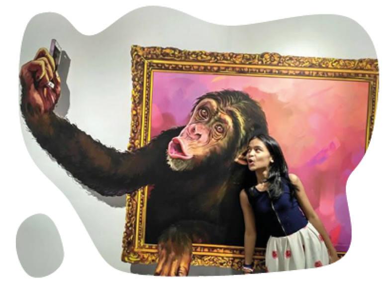 A może selfie z małpą? Murale 3D powstaną m.in. na ul. Pomorskiej 77 i Marcinkowskiego 1
