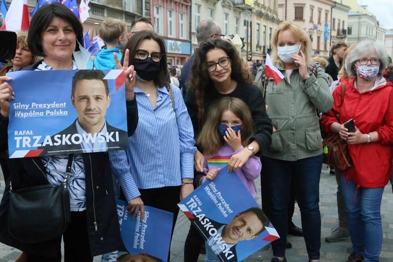 """Trzaskowski w Lublinie: """"Zrobię wszystko, żeby przywrócić program in vitro"""""""