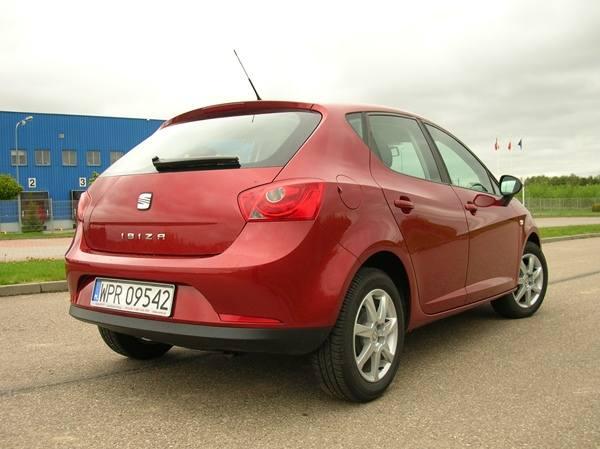 Wrażenia z jazdy. Seat Ibiza 1.4 85 KM