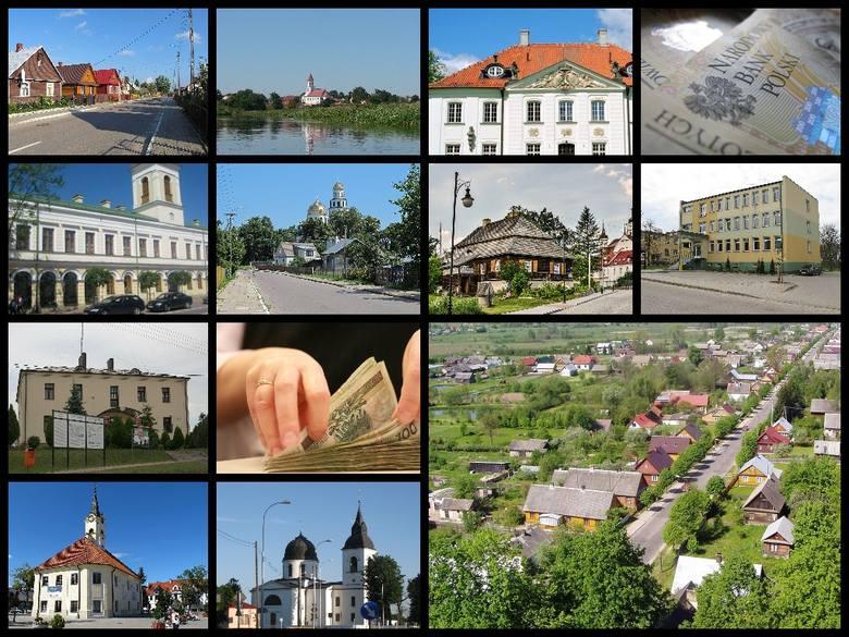 Która podlaskie gminy są najbogatsze? Przedstawiamy ranking przygotowany przez Główny Urząd Statystyczny, sporządzony na podstawie dochodów na jednego