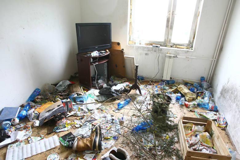Tak wygląda jedno z pomieszczeń...