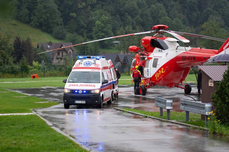 Burza w Tatrach. Zakopane w żałobie po tragedii. Ratownicy dalej szukają poszkodowanych