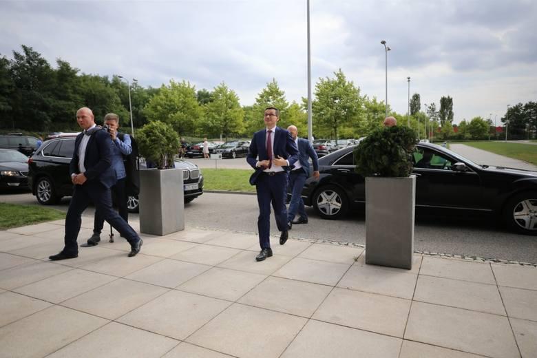 Premier Mateusz Morawiecki w redakcji DZ gościł 16 września. Udzielił wywiadu Markowi Twarogowi i Marcinowi Zasadzie
