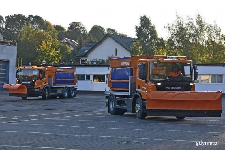 Gdyńscy drogowcy przygotowują się do zimy. Czy śnieg ich zaskoczy?
