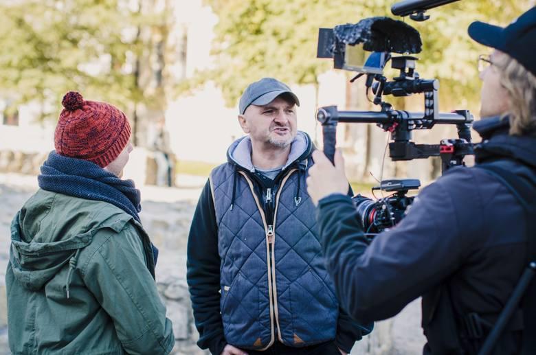 """W piątek w Lublinie, w ramach serii dokumentalnej  """"Polska filmowa"""", kręcone były rozmowy z Jackiem Lusińskim, reżyserem """"Carte Blanche""""."""