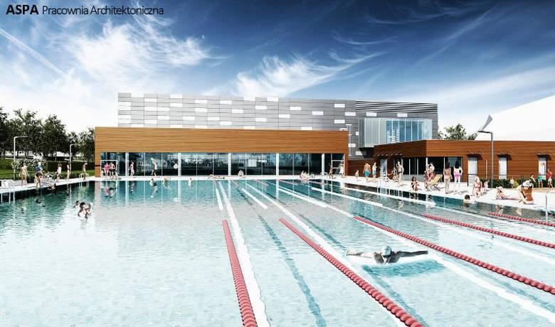 Nowe wizualizacje basenu przy ul. Wejherowskiej