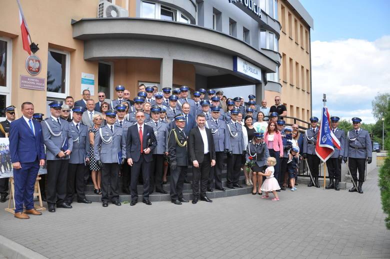 Święto Policji w Makowie Mazowieckim 2019. Odznaczenia i nominacje [ZDJĘCIA]