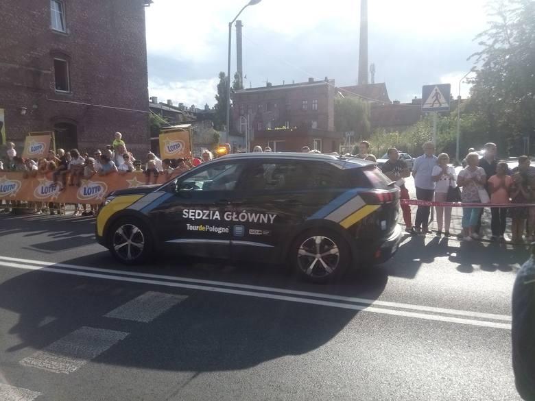 Kolarze Tour de Pologne przemkneli przez Siemianowice