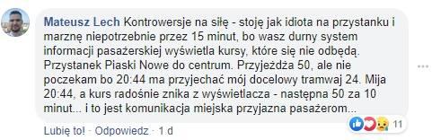 Kraków. Urzędnicy polemizują z nami w sprawie tramwajów. Mieszkańcy komentują: Żałosne. Komu chcecie zamydlić oczy? Komunikacja to dramat