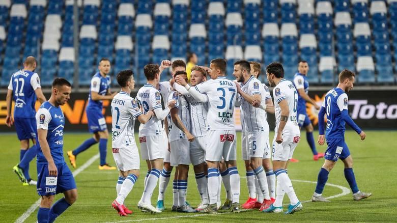 Lech zagra w półfinale Pucharu Polski z obrońcą trofeum.