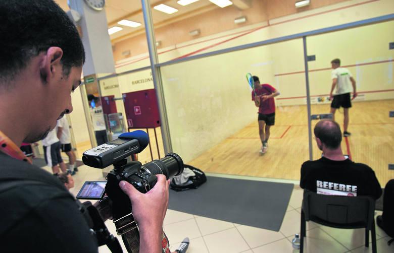 Omar S. Khodeira kręci we Wrocławiu film o squashu