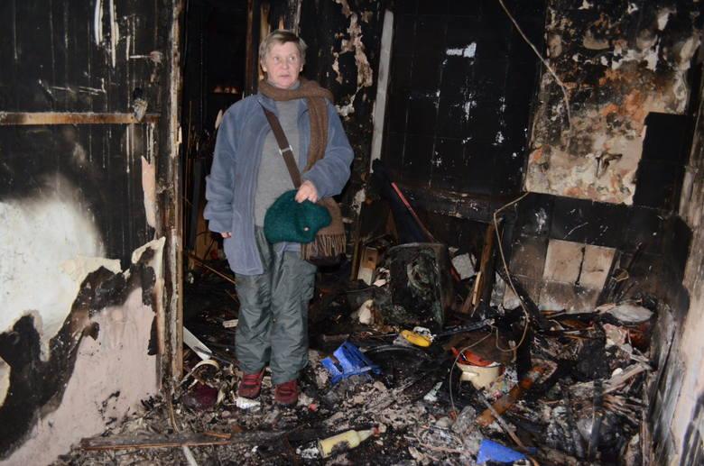 Po pożarze w kamienicy przy ul. Przędzalnianej
