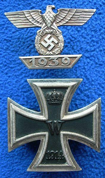 Krzyż Żelazny odlany w Gliwicach