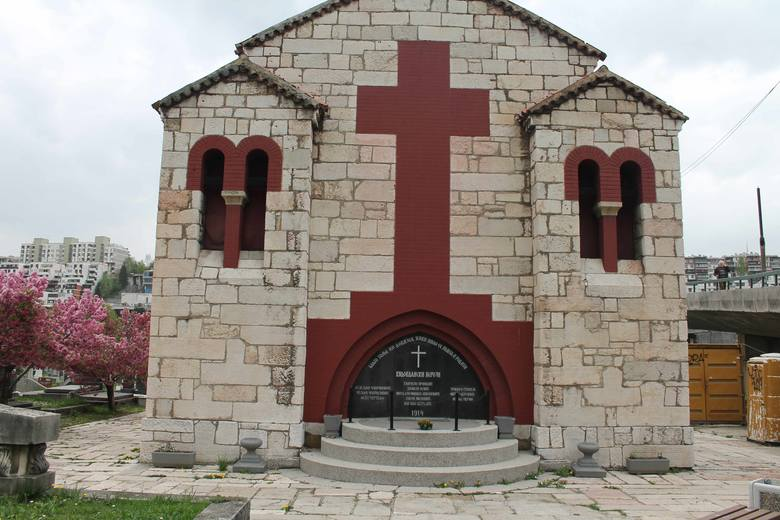Grób Principa na cmentarzu św. Marka koło stadionu olimpijskiego. Dziś rzadko go ktoś odwiedza.