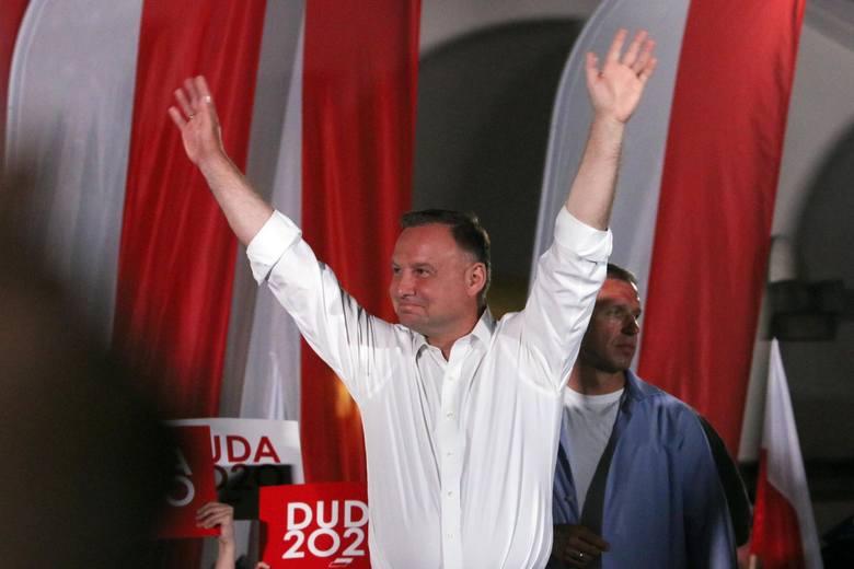 Wybory prezydenckie 2020. Andrzej Duda prezydentem drugą kadencję