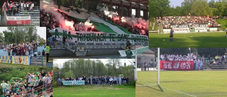 W regionie radomskim rusza nowy sezon piłkarski. Nie ma wątpliwości, że doping kibiców, oprawy, flagi, szaliki dodają urlopu futbolowemu widowisku. W