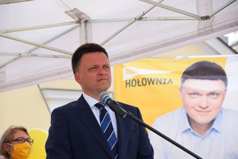 Oto 10 gmin w województwie świętokrzyskim, w których najwyższe poparcie w pierwszej turze wyborów prezydenta Polski uzyskał Szymon Hołownia.ZOBACZ NA