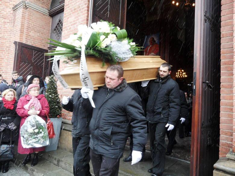 Piekary Śląskie pogrzeb 16-letniego Wojtka, który zmarł na lekcji WF