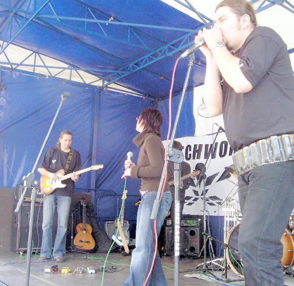 Uczestnicy Toruń Harmonica Top grali swe  koncerty także na Rynku Staromiejskim.