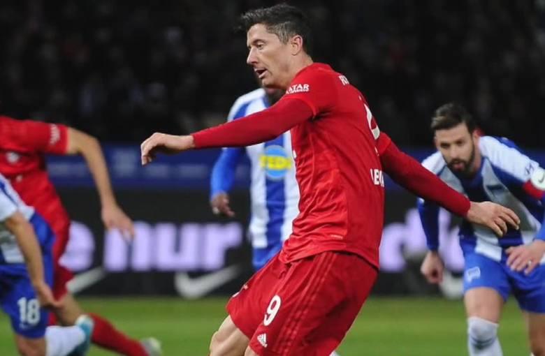 Liga niemiecka. Słabe oceny Lewandowskiego. Według sport.de Polak był najgorszym zawodnikiem meczu Hertha - Bayern