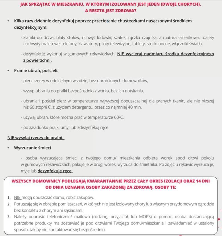 Jak leczyć koronawirusa w domu? GIS wydał specjalne zalecenia dla osób, które nie muszą być hospitalizowane
