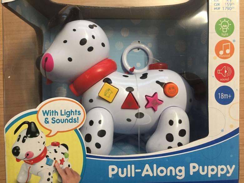 Firma PEPCO na swojej stronie internetowej opublikowała komunikat o wycofaniu ze sklepów w całej Polsce popularnej zabawki dla dzieci. To Piesek edukacyjny