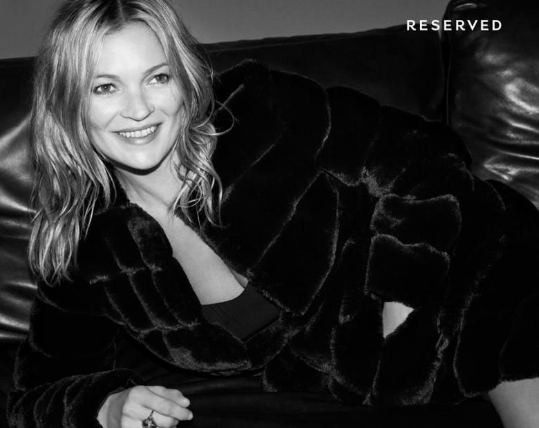 Zdjęcia do najnowszej kampanii Reserved to dzieło Daniela Jacksona. Sesja odbyła się w Londynie, a twarzą marki jest tym razem Kate Moss. Zobaczcie,