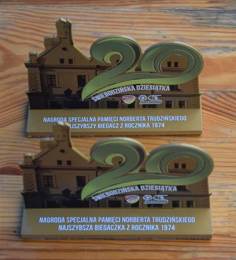Świebodzińska Dziesiątka 2021. Nagrody specjalne pamięci Norberta Trudzińskiego