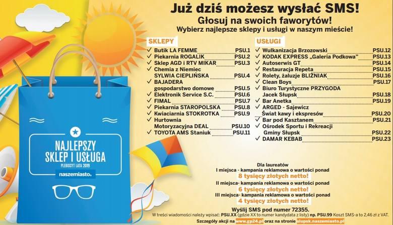 Najlepszy Sklep i Usługa Lata 2019 [REGULAMIN]