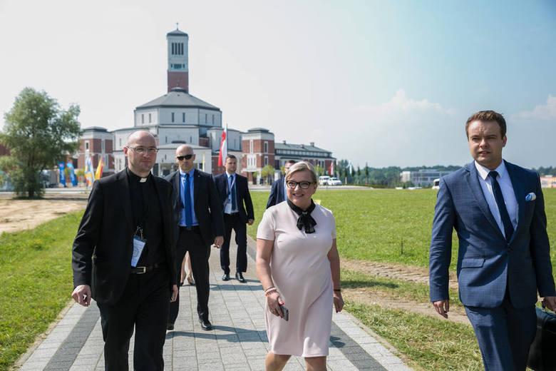 Cisy papieża Franciszka w Parku Miłosierdzia [WIDEO, ZDJĘCIA]