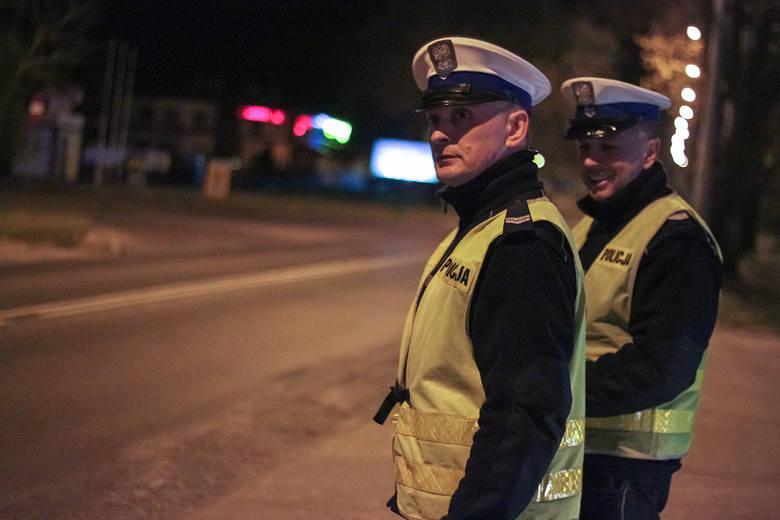 Policjanci na drogach dojazdowych do Gorzowa i w jego centrum skontrolowali ponad 100 pojazdów