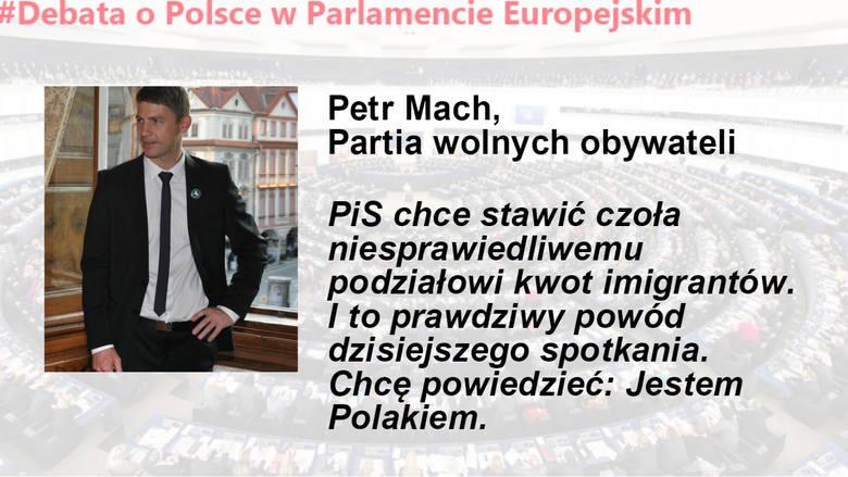 Debata o Polsce w Parlamencie Europejskim. Cytaty