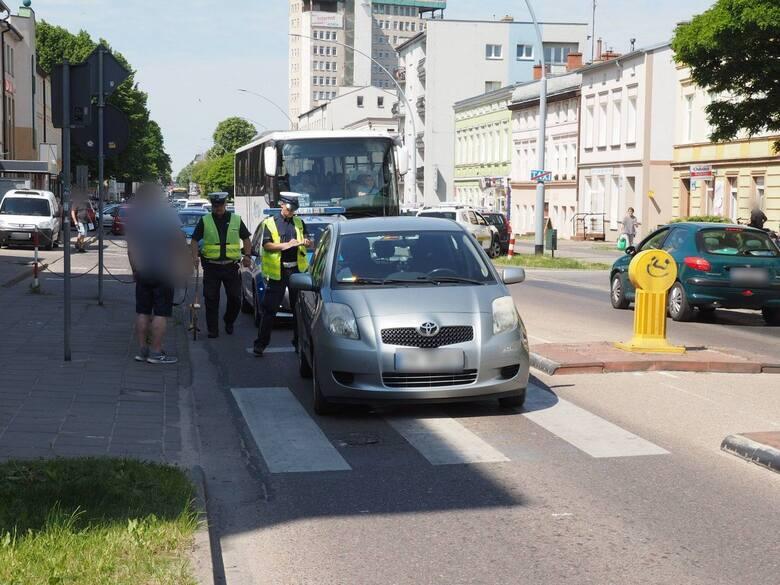 Kobieta potrącona na przejściu dla pieszych na ul. Zwycięstwa w Koszalinie