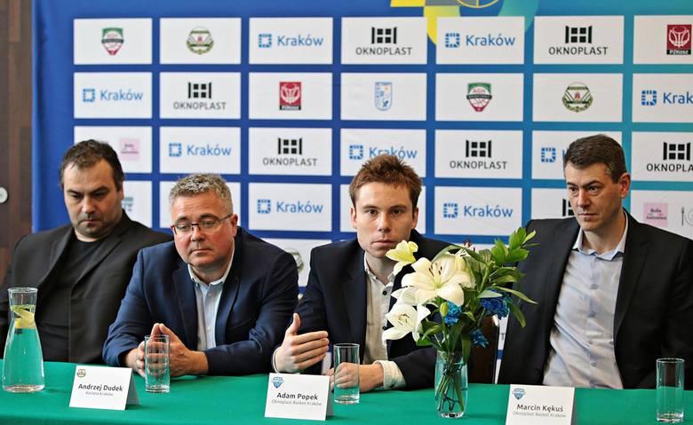Od lewej: Wojciech Bychawski, Andrzej Dudek, Adam Popek i Marcin Kękuś