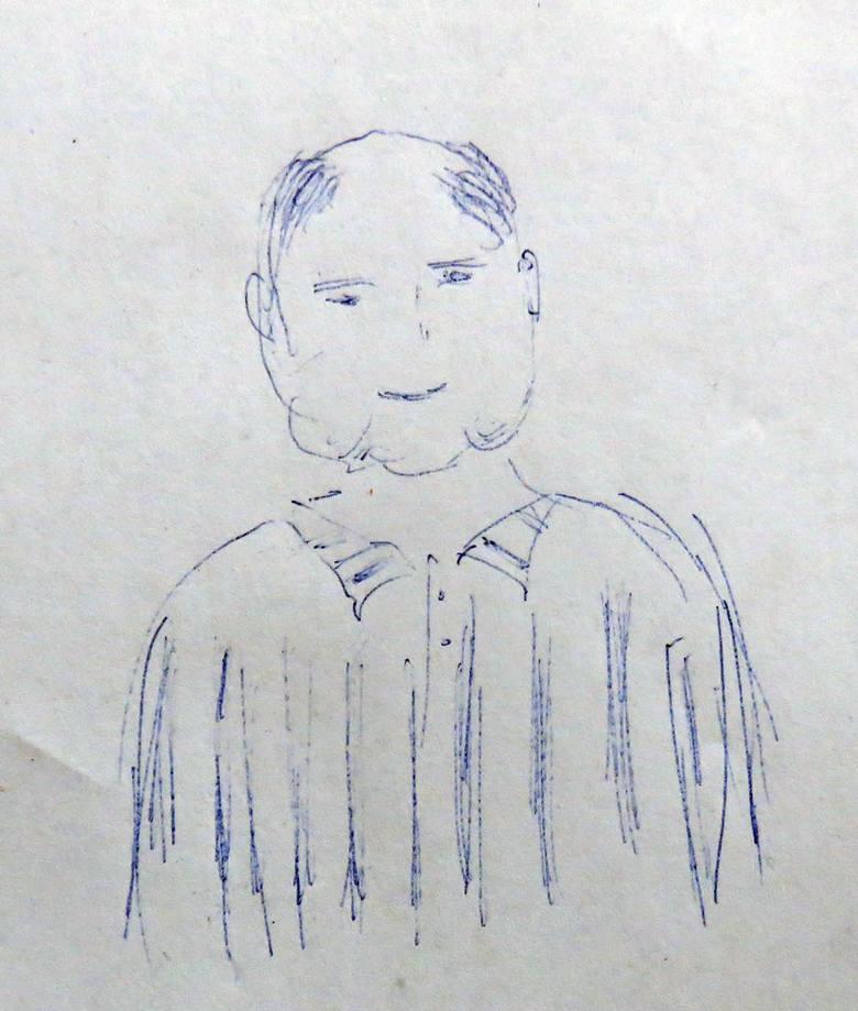 Piotr Wygachiewicz jest przekonany, że ktoś odurzył go podczas podróży pociągiem. Obudził się bez bagaży w okolicy dworca Bydgoszcz Główna. Narysował