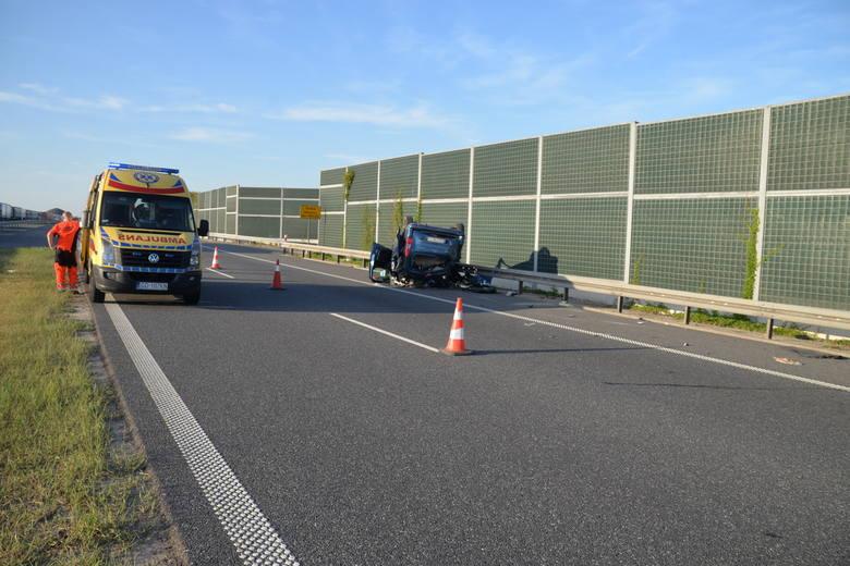 W wypadku na A1 w powiecie włocławskim zginęła 10-miesięczna dziewczynka.