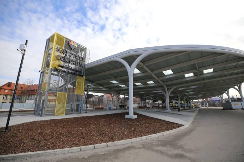 Nowy dworzec autobusowy w Katowicach