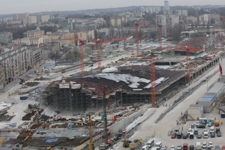 Łódź boryka się z ryzykiem niedotrzymania terminu budowy dworca Fabrycznego, na który dostała z UE 252 mln zł