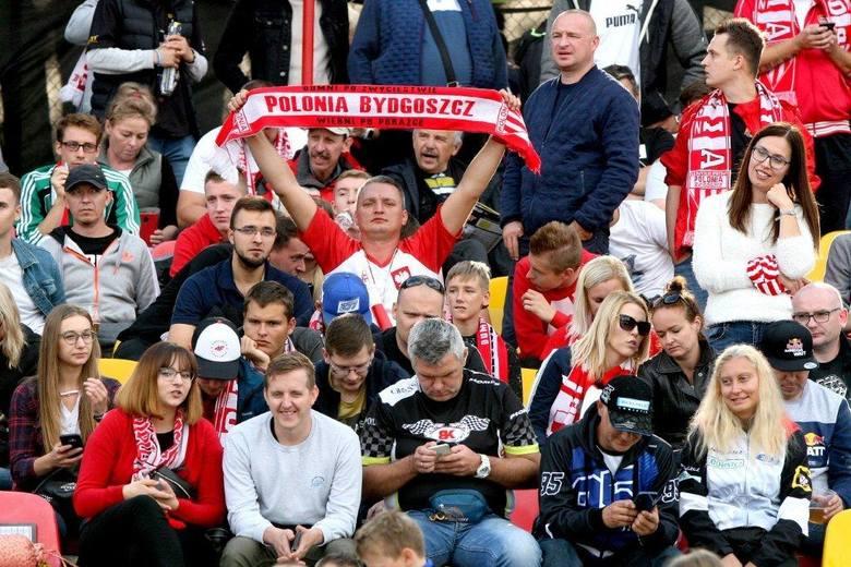 Ponad tysiąc kibiców ZOOLeszcz Polonii Bydgoszcz dopingowało swój zespół w meczu finałowym o awans do I ligi w Poznaniu. Byliście? Poszukajcie się na