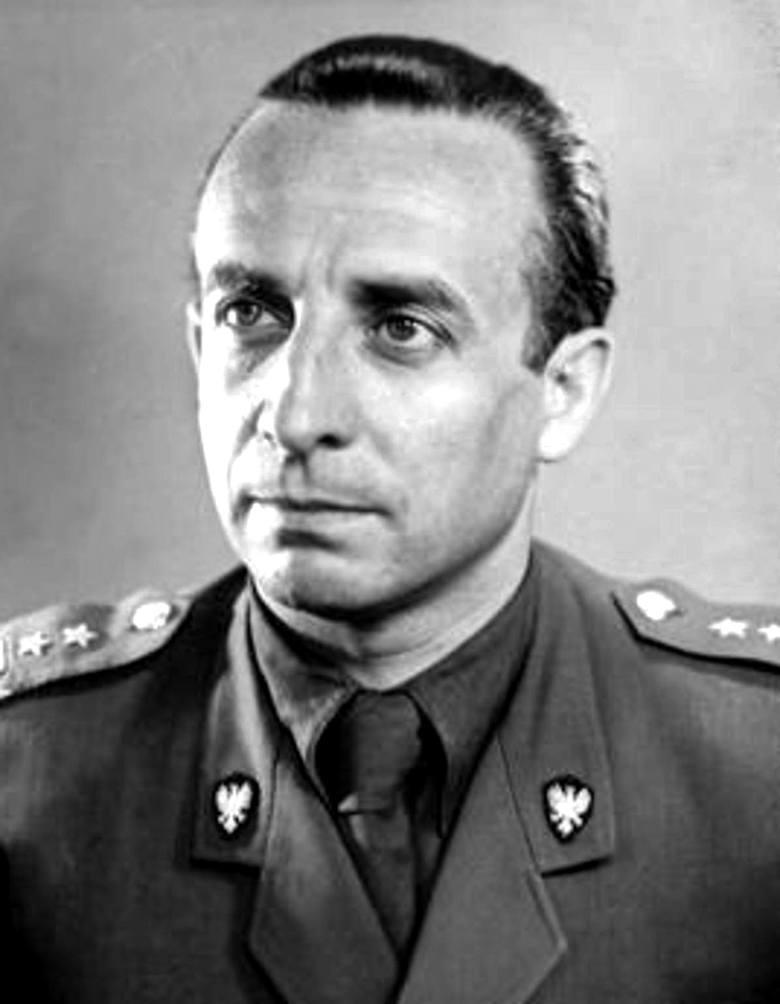 Włodzimierz Lechowicz ps. Zych / Tomaszewski. Zdjęcie wykonano w latach 70.