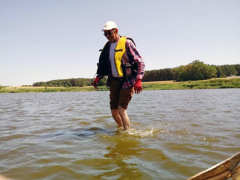 Poziom wody w Warcie jest o 25 cm wyższy od najniższego