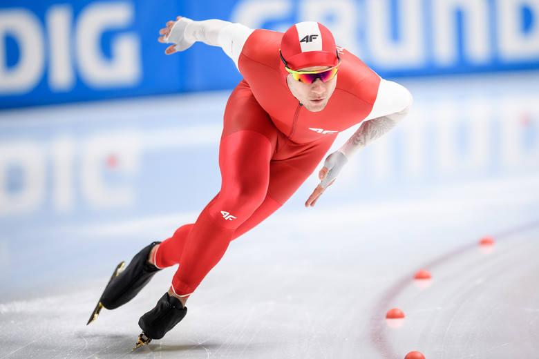 Piotr Michalski w weekend wystartuje w zawodach Pucharu Świata w łyżwiarstwie szybkim