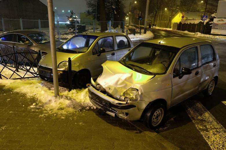Do wypadku doszło w czwartek na skrzyżowaniu ul. Borelowskiego z ul. 29 listopada w Przemyślu.- 44-letni kierowca matiza, mieszkaniec Przemyśla jadąc