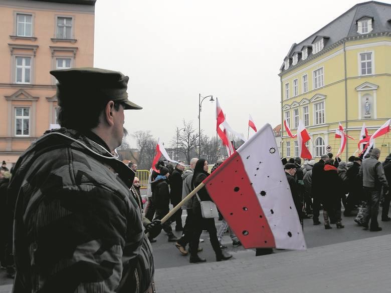 Marsz pamięci żołnierzy wyklętych przeszedł przez centrum Chojnic
