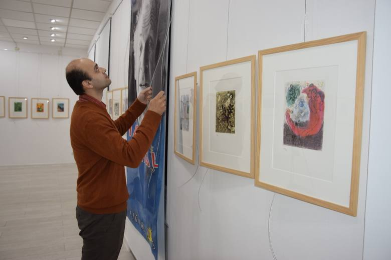 - W Żninie pokażemy 43 litografie Marca Chagalla - mówi Wasilij Kessauri, właściciel kolekcji
