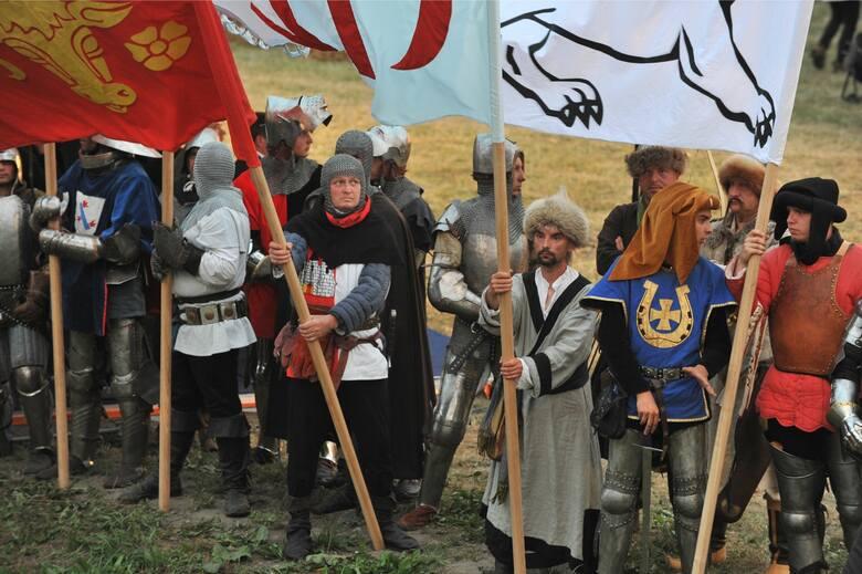 15.07.2010 malbork banderia 1410..przedstawienie muzyczno teatralne z okazji 600 rocznicy bitwy pod grunwaldem na zdjeciu horongwie dziennik baltycki fot anna arent